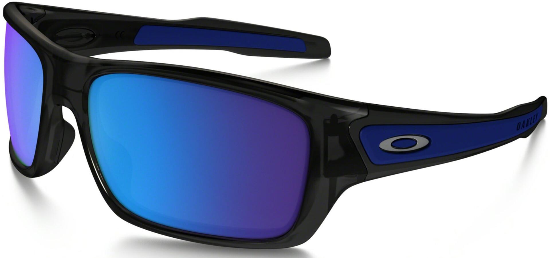 8b43ae764729e Oakley Turbine XS - Lunettes cyclisme - bleu noir - Boutique de ...